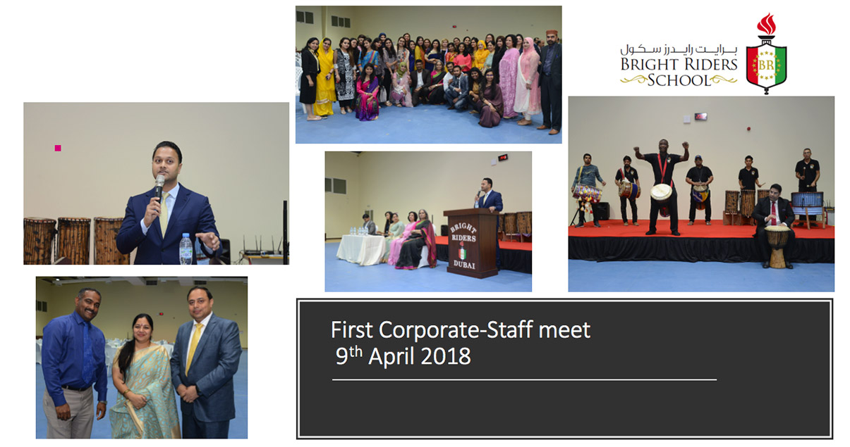 First Corporate-Staff meet  9th April 2018