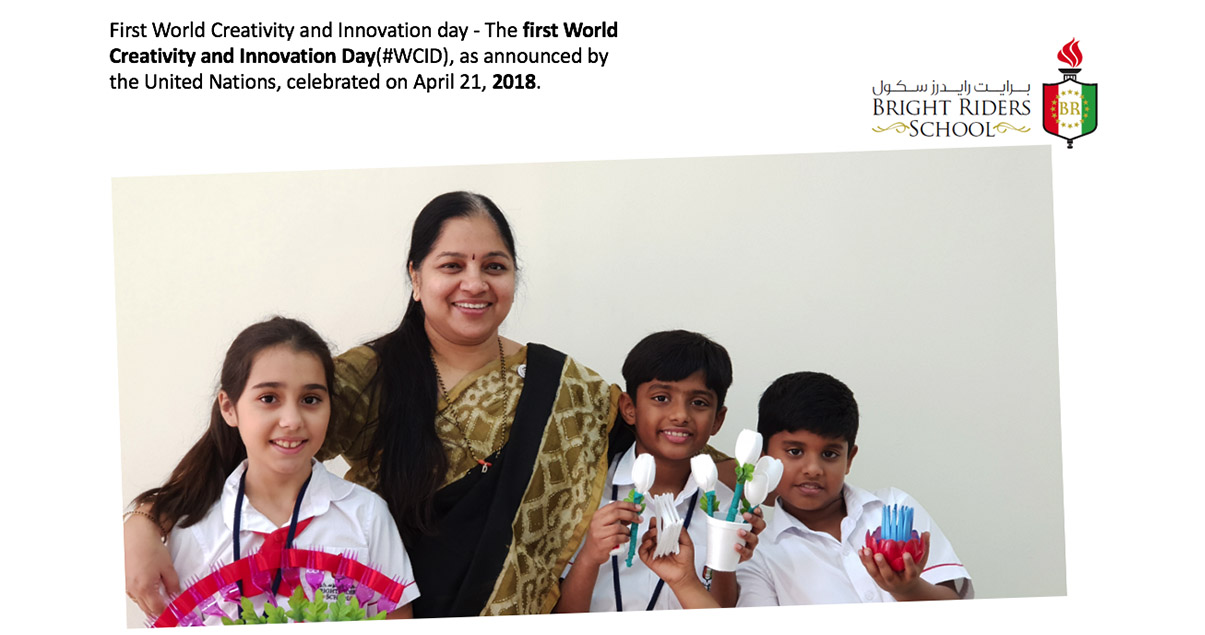 First World Creativity and Innovation day - Thefirst World Creativity and Innovation Day(#WCID), as announced by the United Nations, celebrated on April 21,2018.