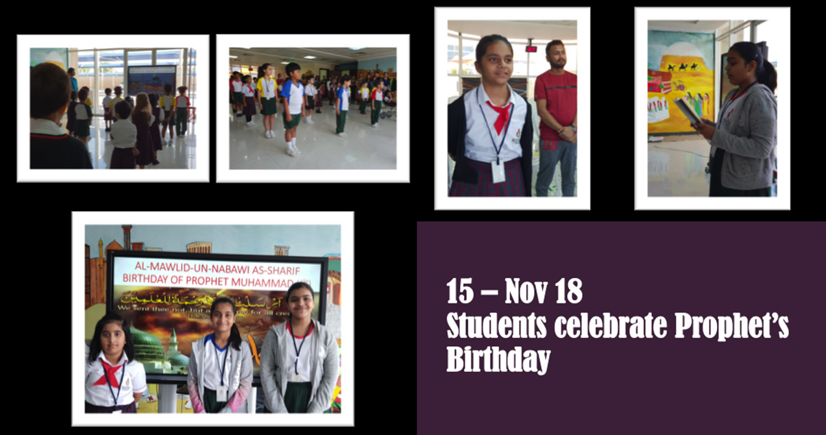 Students celebrate Prophet's Birthday