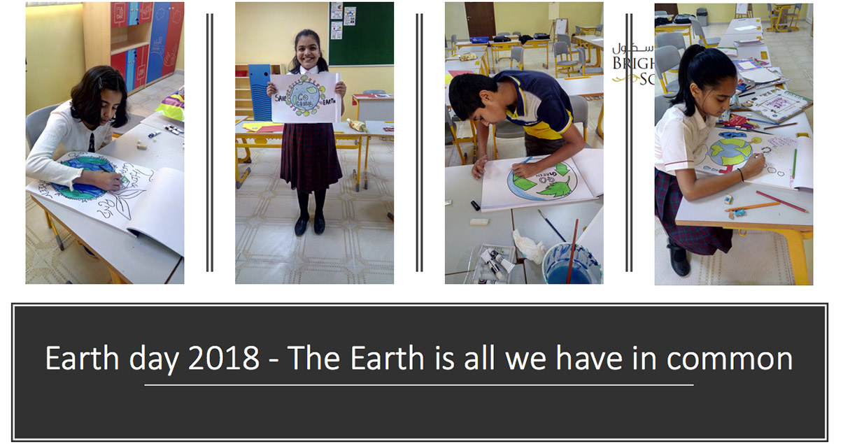 Earth day 2018 - The Earth is all we have in common