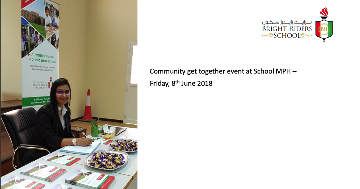 Community get together event at School MPH