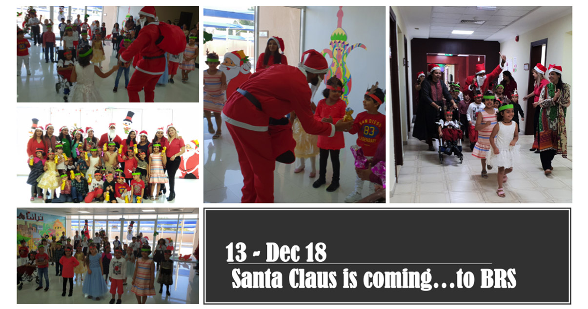 Santa Claus is coming…to BRS